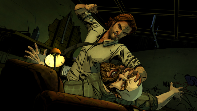 Bigby fights in Telltale Games' The Wolf Among Us