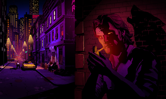 Bigby hero image - Telltale Games' The Wolf Among Us, based on Bill Willingham's FABLES comics