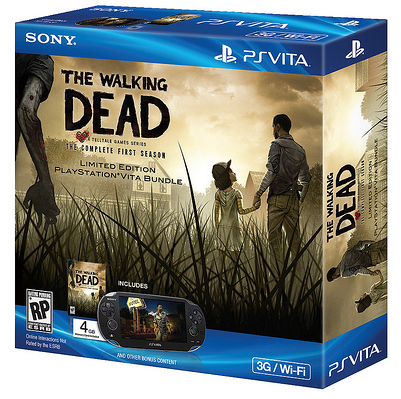 Telltale Games The Walking Dead on PS Vita