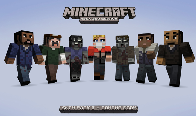 The Walking Dead Minecraft Skin Pack 5