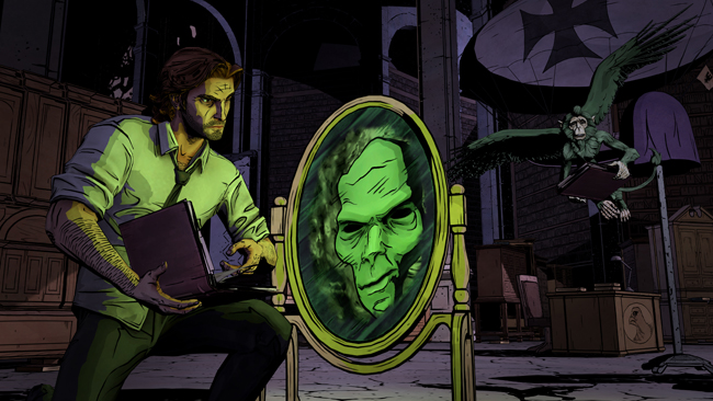 Fables The Wolf Among Us business office Bigby Magic Mirror Bufkin