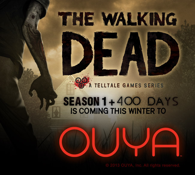 The Walking Dead появится на Ouya