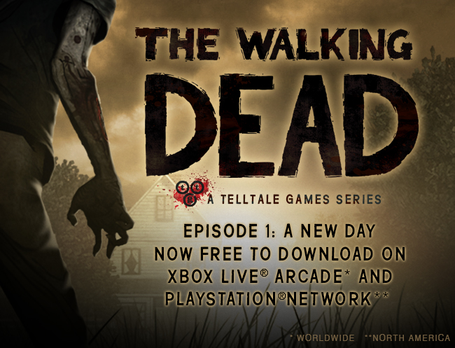 TWD ep 1 free on XBLA and PSN