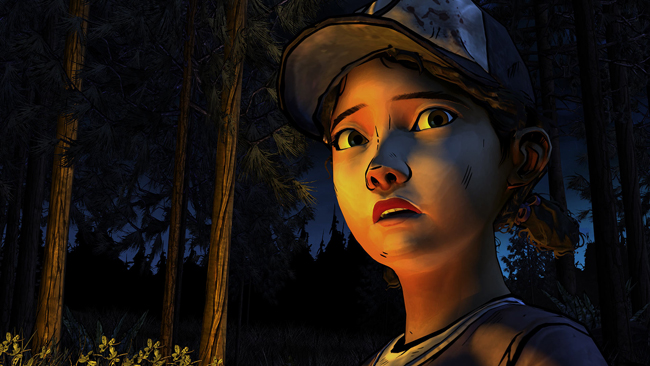 Screenshot 1 - Clementine campfire