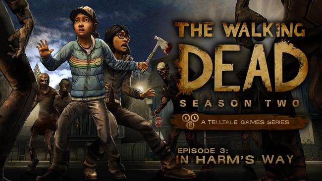 New screenshots for Episode 3 - 'In Harm's Way'
