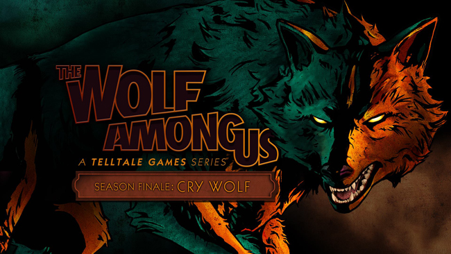 The Wolf Among Us season finale key art