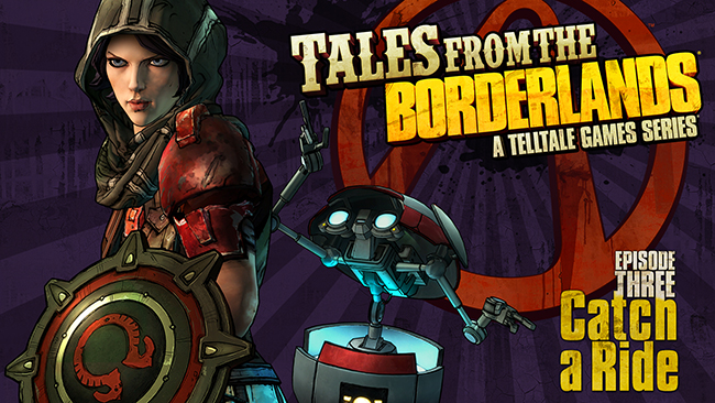 Tales from the Borderlands Ep 3 key art