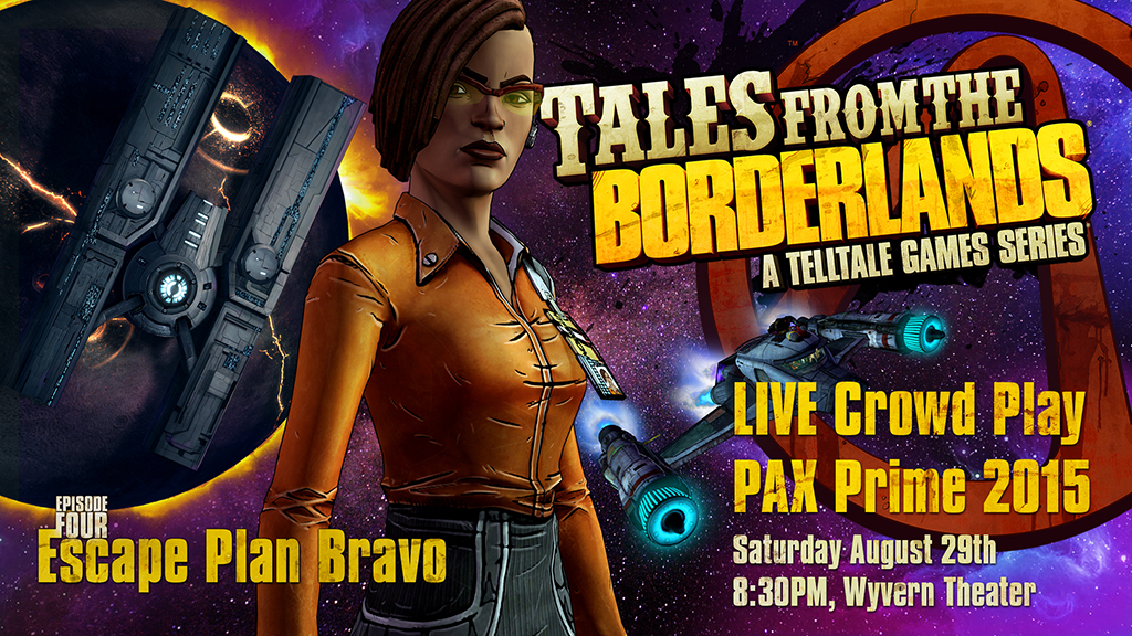 Tales from the Borderlands Ep 4 PAX flyer