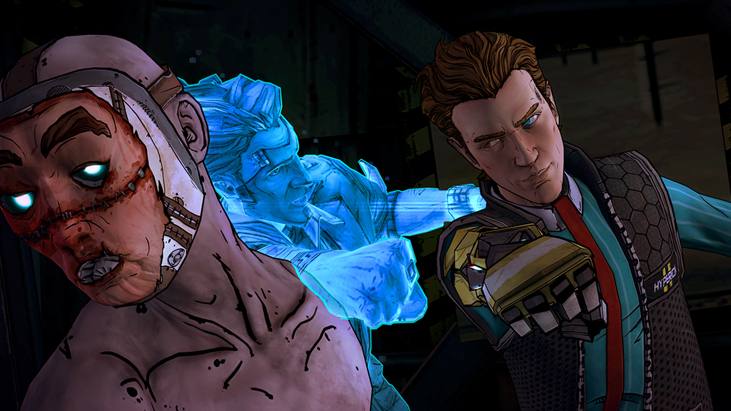 Tales from the Borderlands Episode 4 screenshot - punch