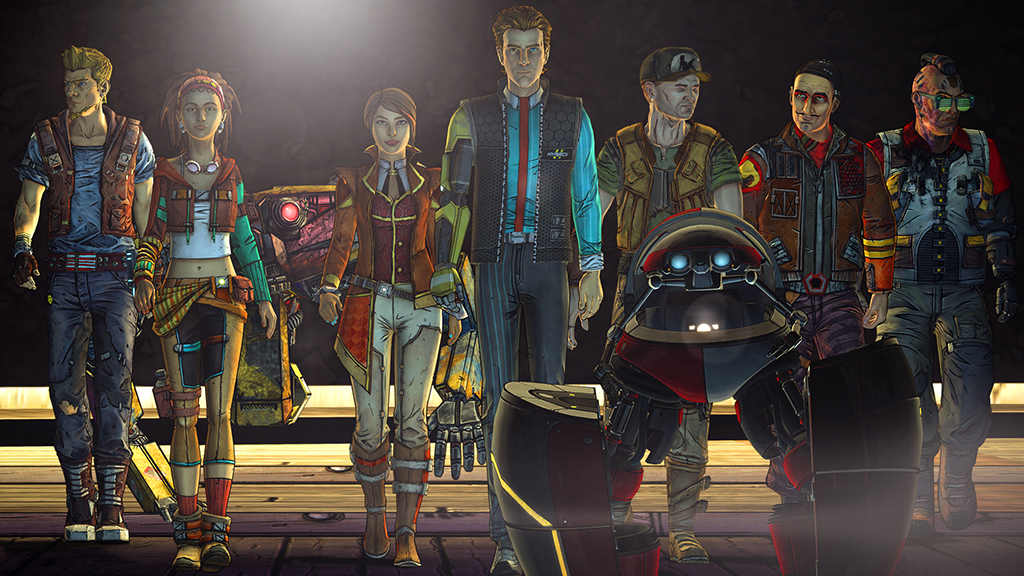 Tales from the Borderlands Episode 4 screenshot - the right stuff