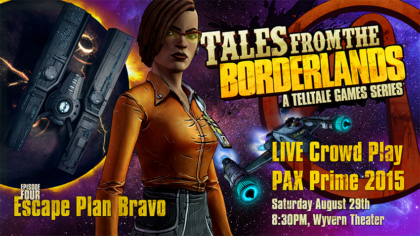 Tales from the Borderlands PAX Prime live play