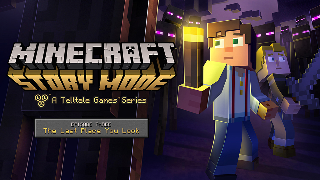 Minecraft: Story Mode Ep 3 key art