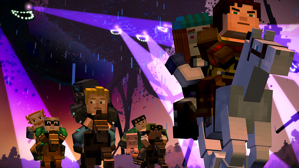 Minecraft: Story Mode Episode 4 screenshot