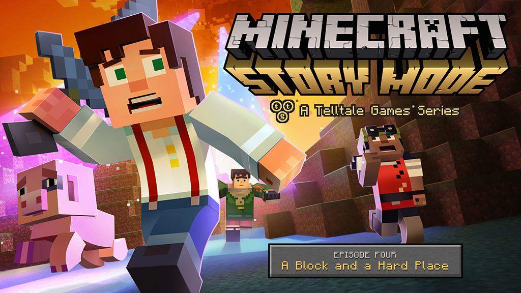 Minecraft: Story Mode Episode 4 key art