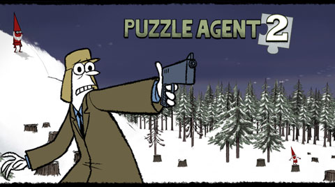 Puzzle Agent 2 logo