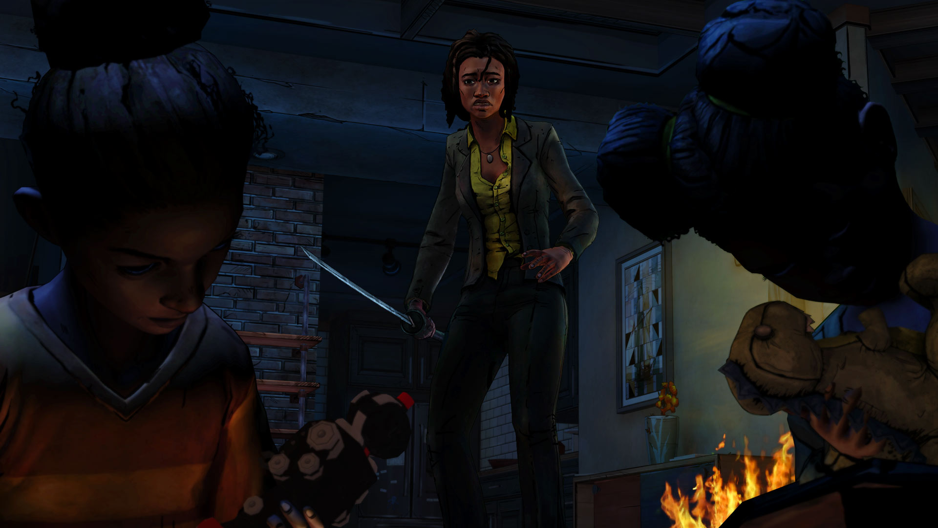The Walking Dead Michonne A Telltale Miniseries-Episode 1