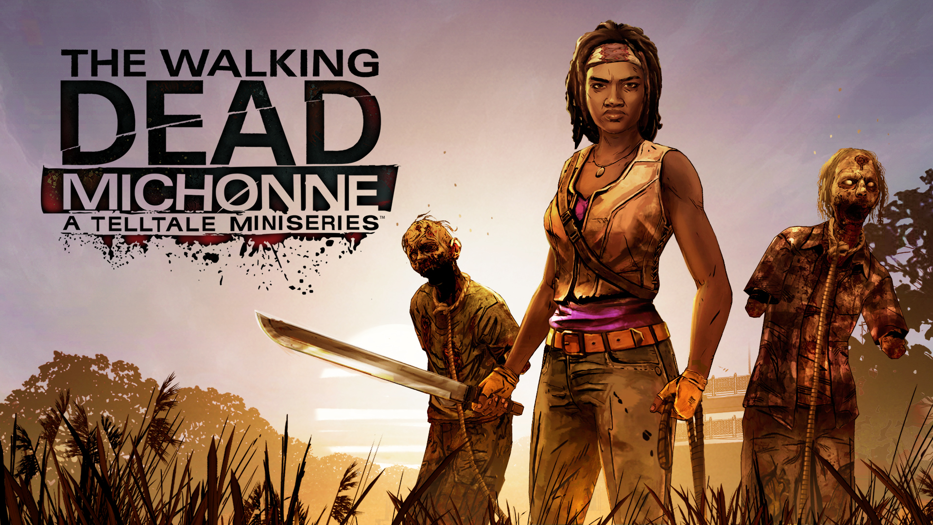 The Walking Dead Michonne key art