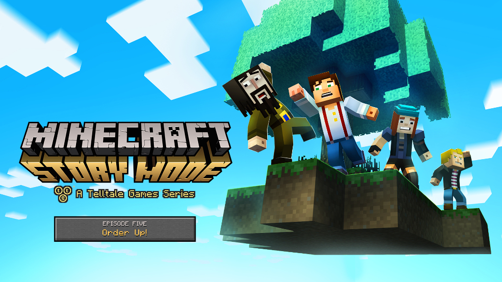 Minecraft: Story Mode Episode 5 key art