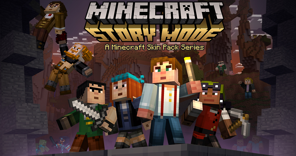 Minecraft: Story Mode skin pack