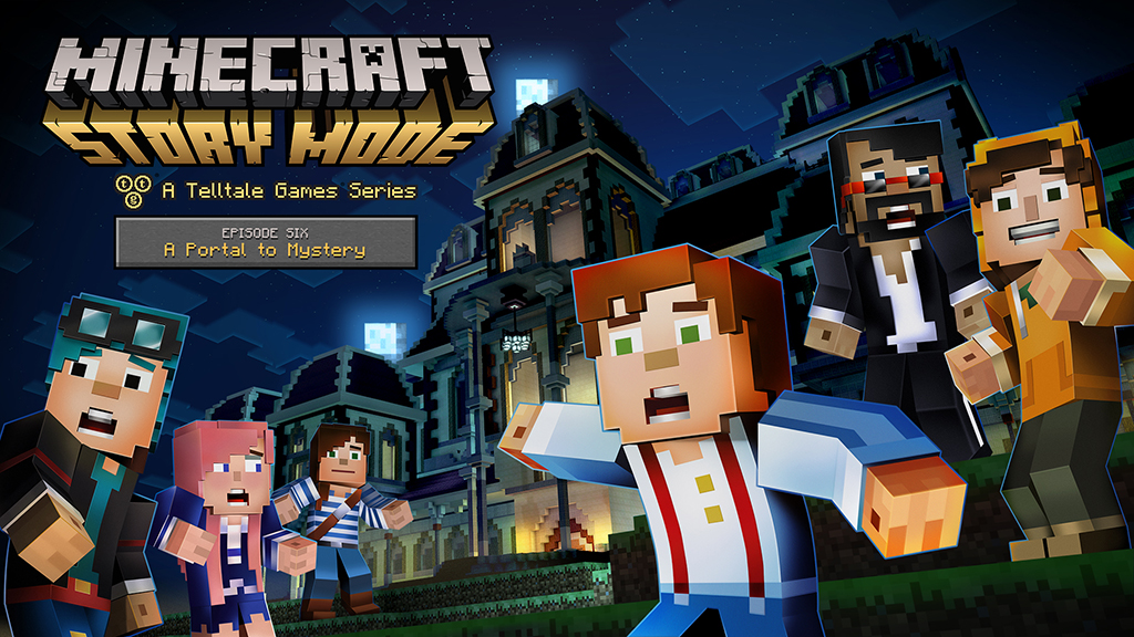 Minecraft: Story Mode Episode 6 key art