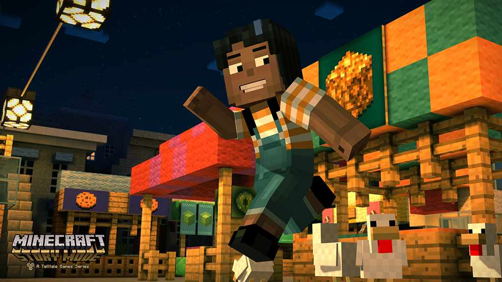 Minecraft solo made in Telltale !, Minecraft: Story Mode, premiers screens !!